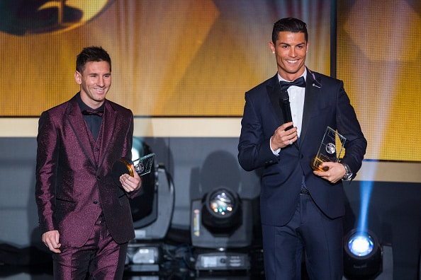 380.000 fodboldfans har stemt: Hvem er bedst af Lionel Messi og Cristiano Ronaldo?