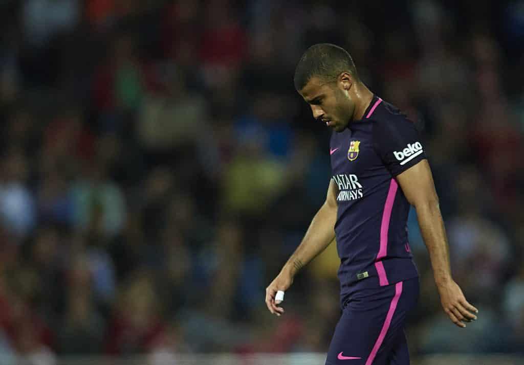 Alvorlig knæskade: Barcelona-midt ude resten af sæsonen