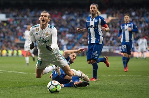 Gareth Bale falder