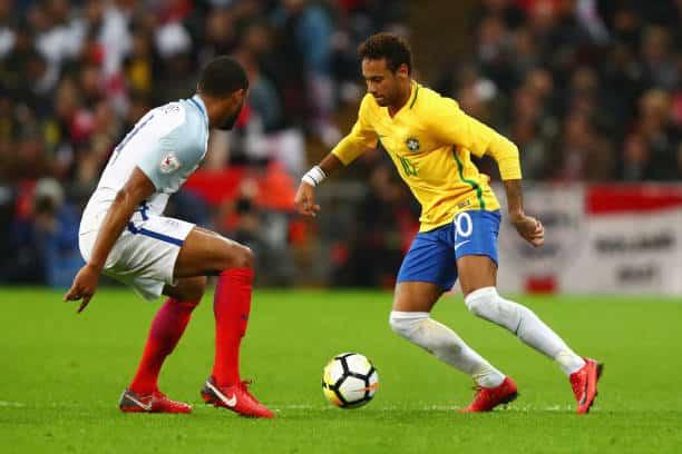 Neymar for Brasilien