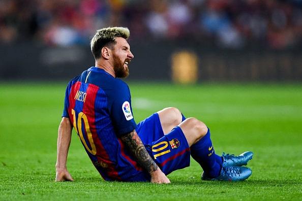 Chok: Messi starter på bænken – se hvorfor her