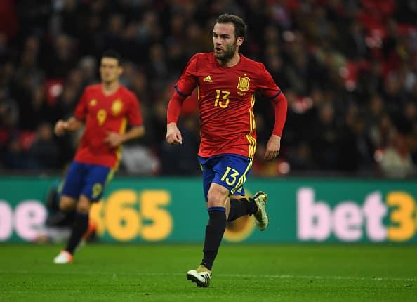 Juan Mata Spanien