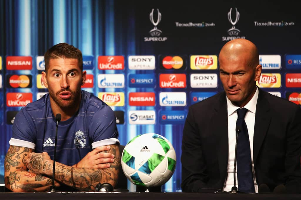 Zidane Ramos Real Madrid