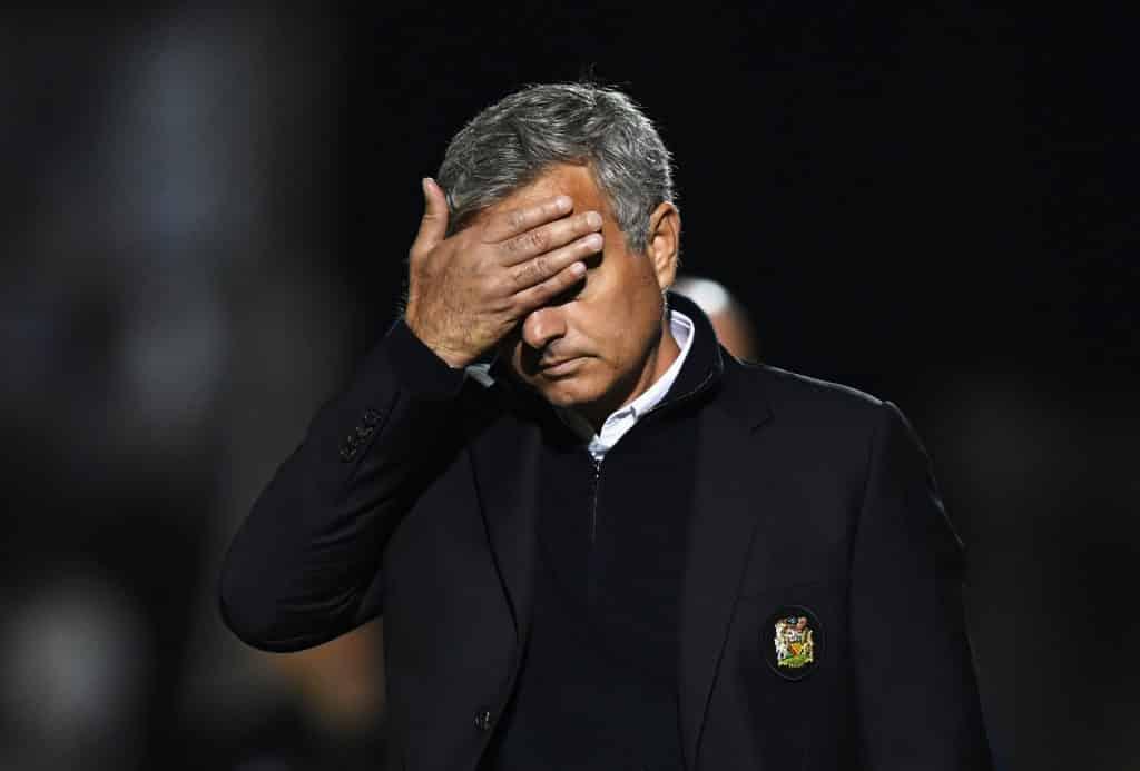 Medie: Sådan reagerede Mourinho på Uniteds exit til Barcelona i Champions League