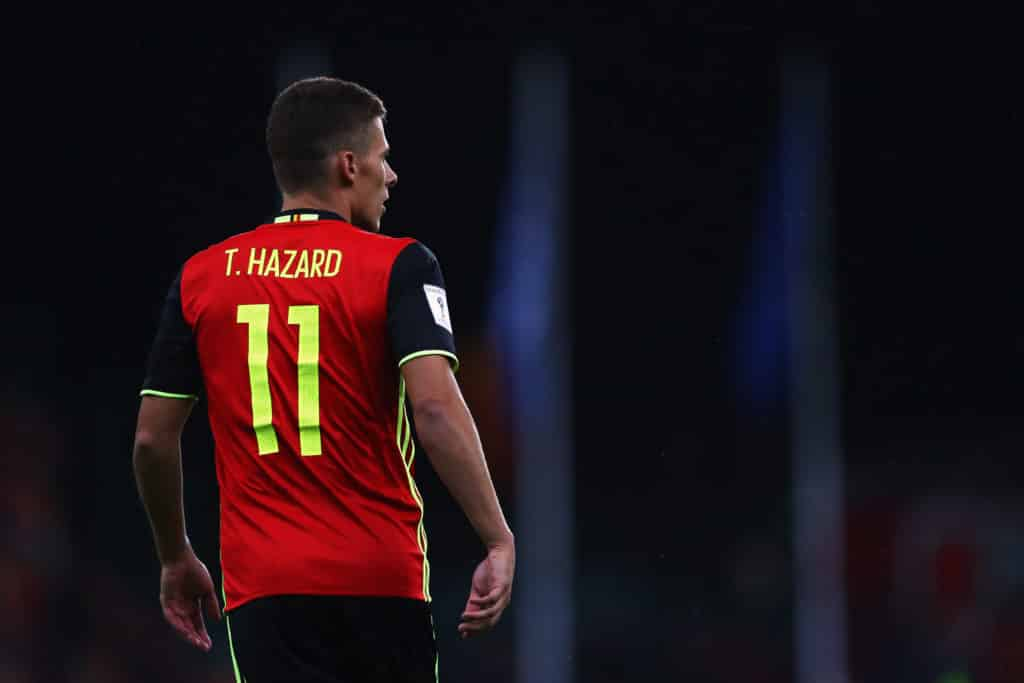 Thorgan Hazard Belgien