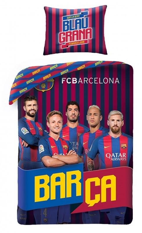 FC Barcelona 2i1 Sengetøj - 100 procent bomuld
