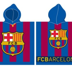 FC Barcelona Poncho / Håndklæde med hætte - 100 procent bomuld