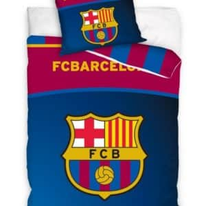 FC Barcelona Sengetøj 140 x 200, 100 procent bomuld