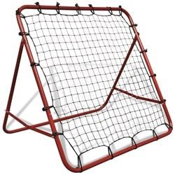 Justerbar fodbold rebounder 100 x 100 cm