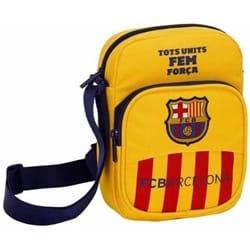 Shoulder Bag MED Clublogo Yellow 26X33X10 cm