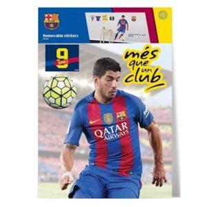 Wall Sticker FC Barcelona SUAREZ