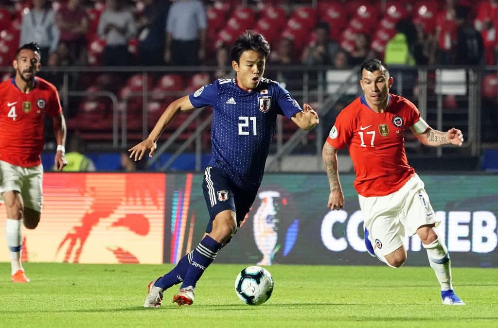 Real ser ud til at slå Barca i jagten på japansk stortalent