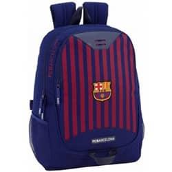 rygsæk rød / blå striber 20 liter