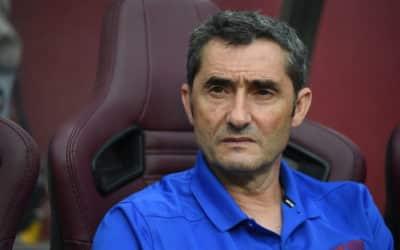 Valverde: Barcelona henter måske en venstre back