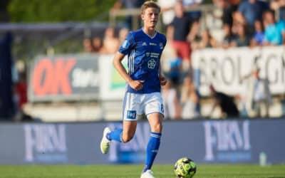 Lyngby-træner kalder Frederik Winther en kommende stjerne