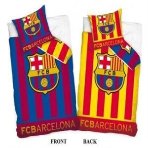 fc barcelona 2i1 sengetøj 100 procent bomuld