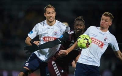 AGF holder fast i sjetteplads trods nederlag til FC København