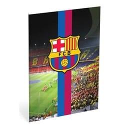 FC BARCELONA Notebook 40 A4 ark med firkanter - 80 sider - 10 x 10 mm - 70g - Camp nou
