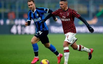 Eriksen imponeret over atmosfæren i Milano-derby