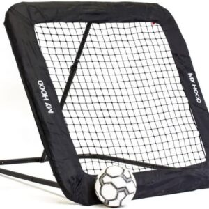 My Hood - Fodbold Rebounder Trampolin - Str. L - 130x130 Cm.
