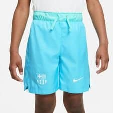 Barcelona Shorts NSW Woven Beachwash - Blå/Hvid Børn