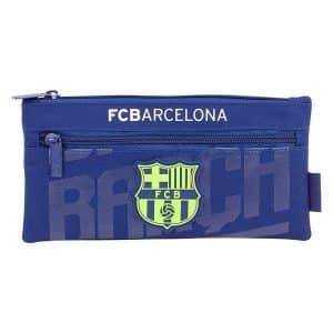 F.c. Barcelona - Penalhus Med 2 Rum - Blå - 22x11 Cm