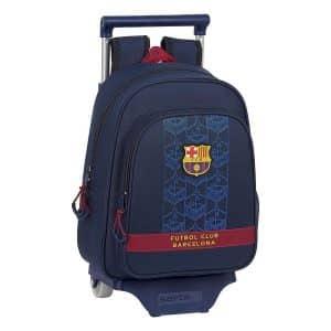 F.c. Barcelona - Rygsæk Med Hjul - Marineblå