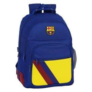 F.c. Barcelona - Skoletaske - Blå Gul