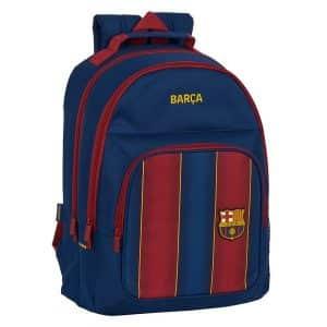 F.c. Barcelona - Skoletaske - Blå Rødbrun