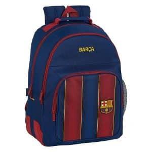 F.c. Barcelona - Skoletaske - Mørkeblå Rød