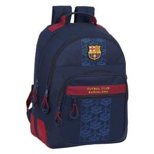 F.c. Barcelona - Skoletaske - Marineblå